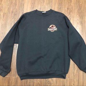 Vintage 1992 Jurassic park crewneck sweater